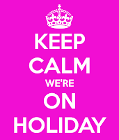 Keep calm, we're on holiday