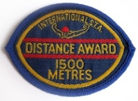 1500m Badge - old style